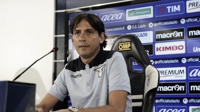 """Lazio, Inzaghi: """"Derby alle spalle, ora la testa deve essere al Bologna"""""""
