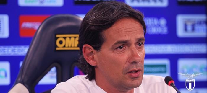 """Lazio, Inzaghi in conferenza: """"Dobbiamo dare continuità alla vittoria di Genova"""""""