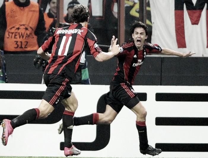 """Inzaghi revela maior arrependimento de sua carreira: """"Queria ter jogado mais com Ibra"""""""
