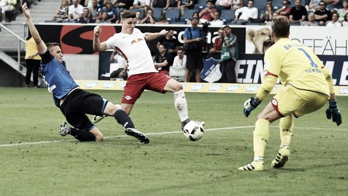 Estreante na Bundesliga, RB Leipzig jogar melhor mas empata com Hoffenheim fora de casa