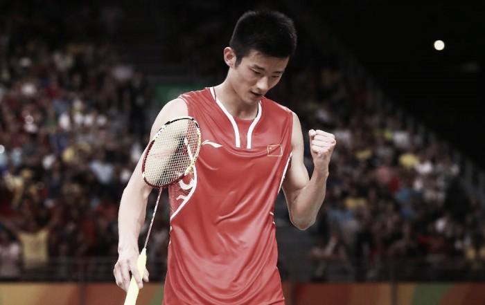 No último dia do Badminton no Rio 2016, Chen Long vence Lee Chong Wei e fica com o ouro