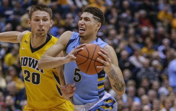 Iowa Hawkeyes Annihilate Marquette Golden Eagles In Battle Of Birds