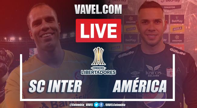 Resumen y goles: SC Internacional vs América de Cali (4-3) por Copa Libertadores