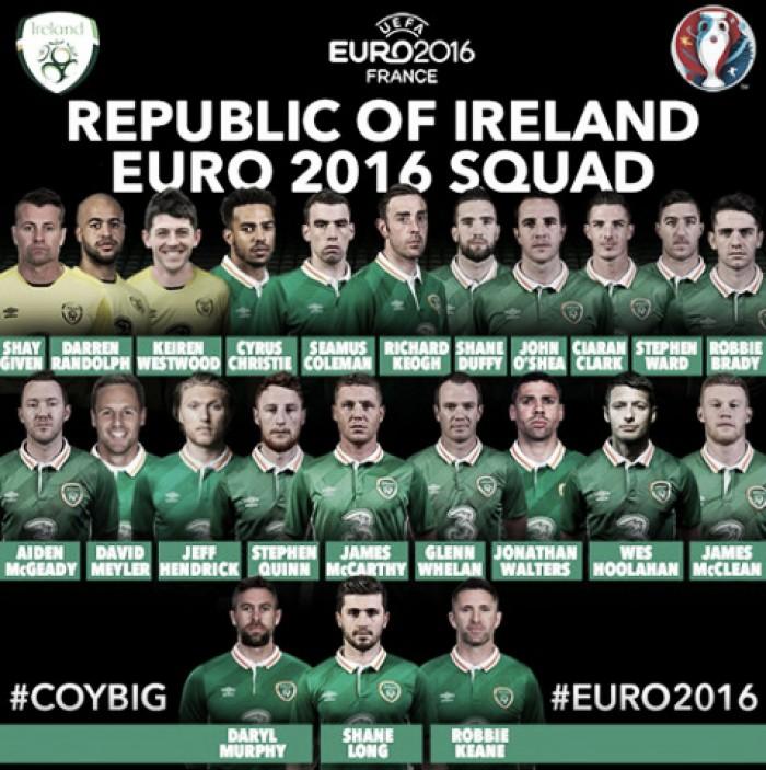 Com Robbie Keane e sem Arter, O'Neill revela lista final da Irlanda para Eurocopa
