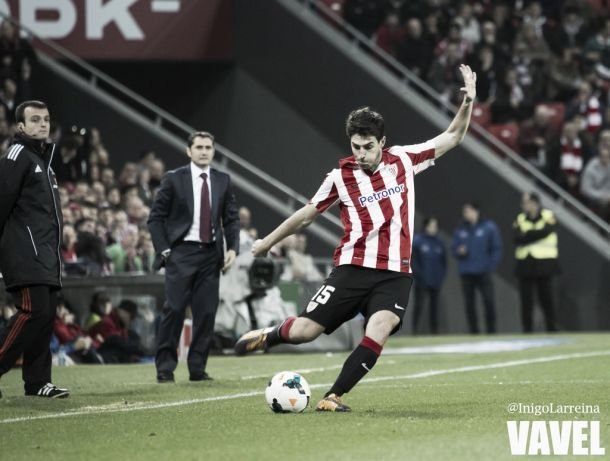 Iraola marca su tercer gol en competición europea