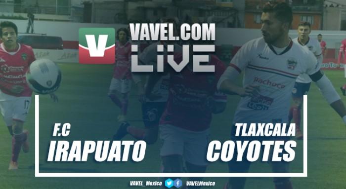 Resultado y goles del Irapuato 0-1 Coyotes de Tlaxcala de la final Segunda División 2017