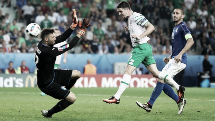 Italy 0-1 Republic of Ireland: Late Brady header sends Boys in Green into dreamland
