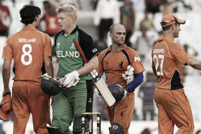 Result Netherlands - Ireland in World T20 2016