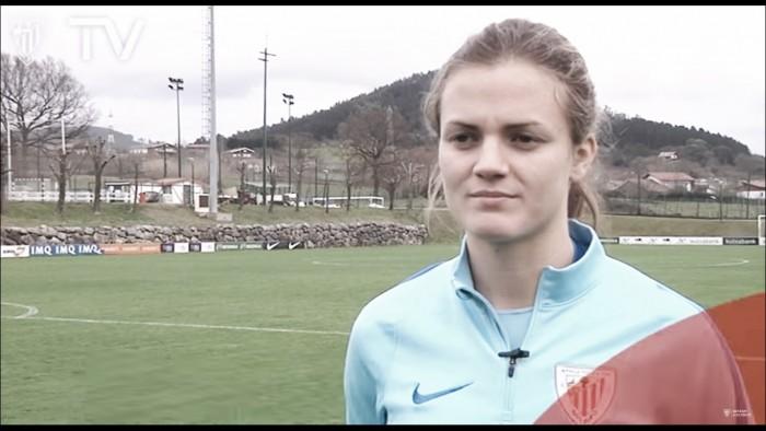 """Irene Paredes: """"Me gusta meter goles, pero prefiero que el equipo no los reciba"""""""