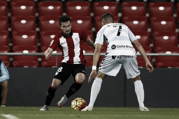 Iriondo juega su partido nº25 en el Bilbao Athletic