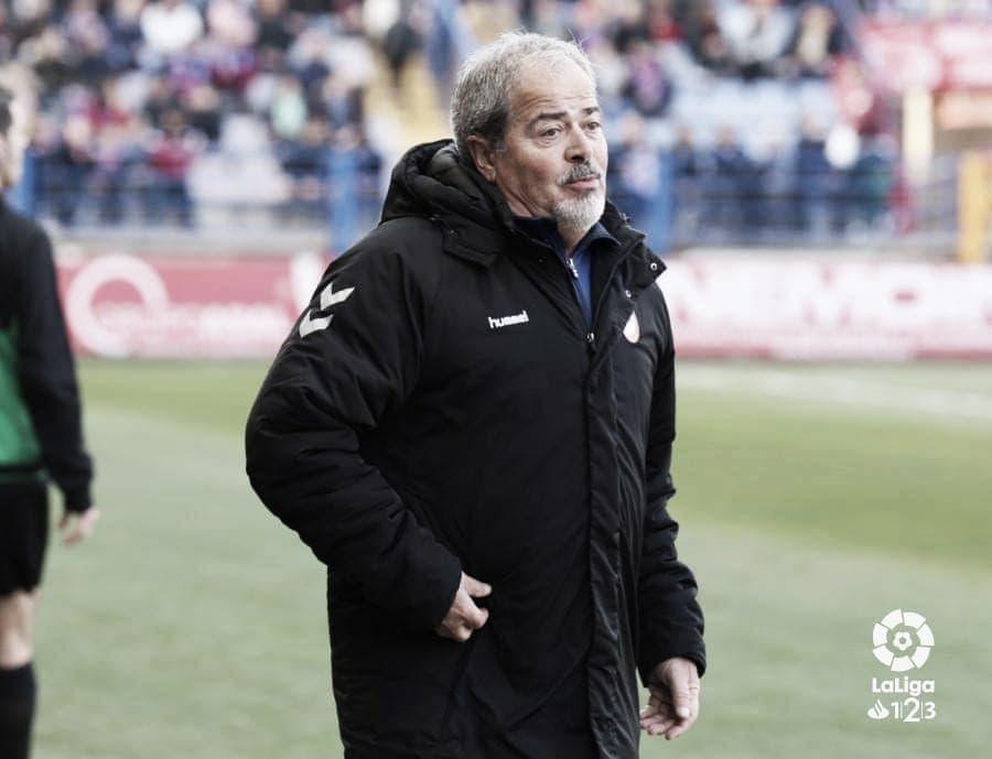 """Iriondo: """"Hace cuatro años era impensable que pudiéramos jugar contra el Málaga"""""""
