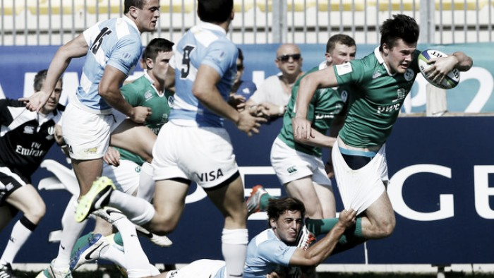 Los Pumitas cayeron sin discusiones ante una Irlanda superior y van por el tercer puesto