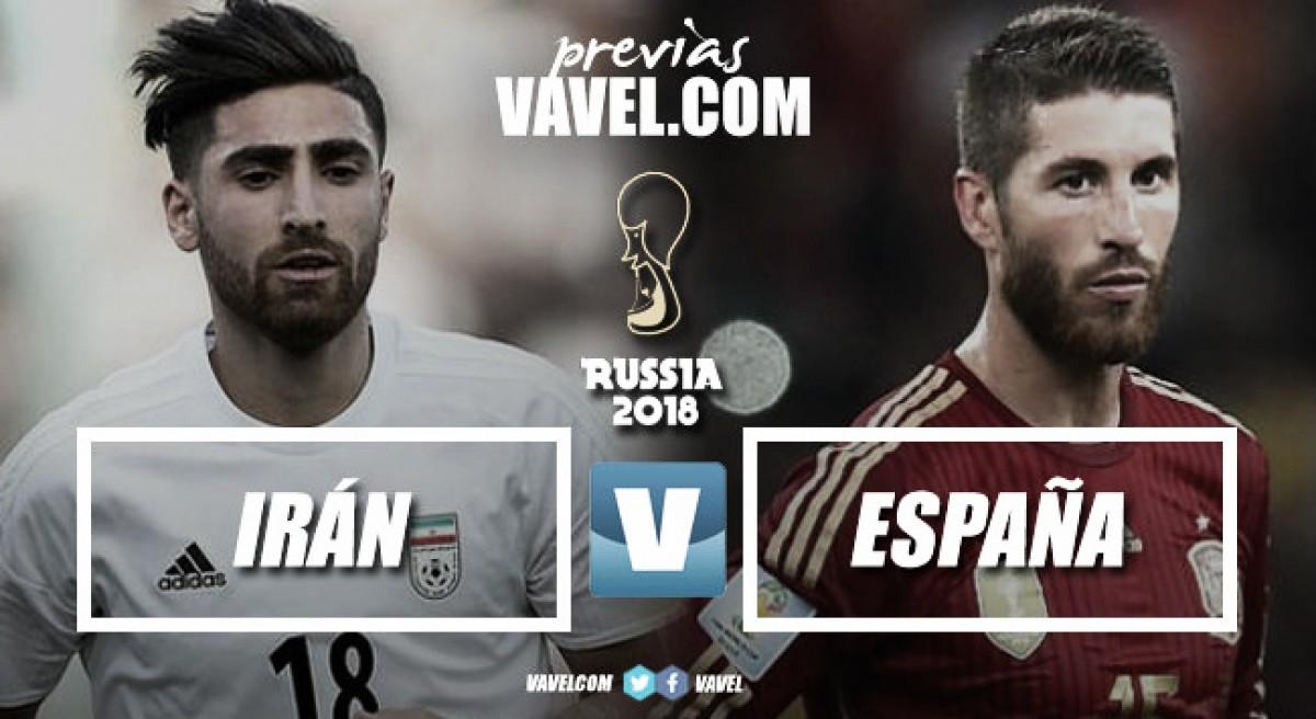 Previa Irán – España: con la urgencia de la victoria