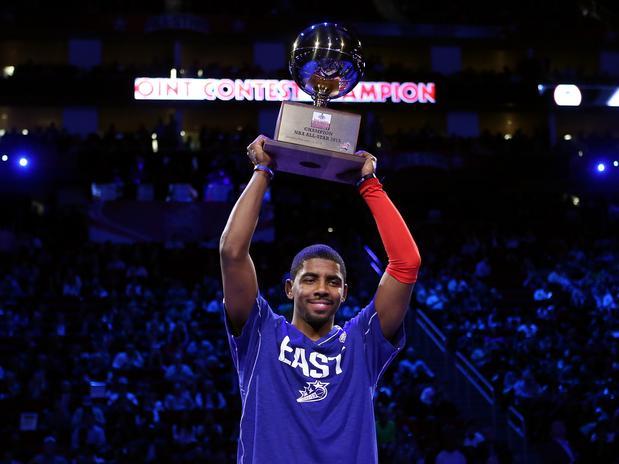 23 3P convertidos y título para Irving