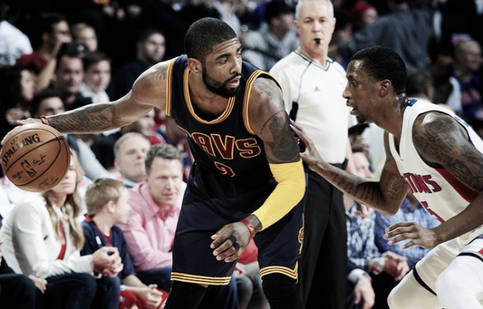 Cavs hold off Pistons 101-91, take 3-0 lead in series