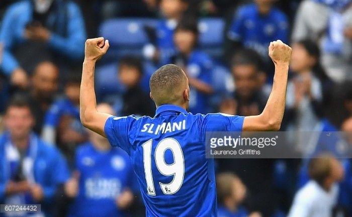 Leicester City 3-0 Burnley: Slimani strikes twice in comfortable victory