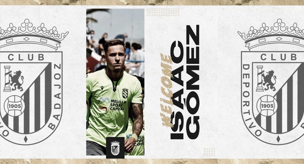 Isi Gómez, primer fichaje del CD Badajoz