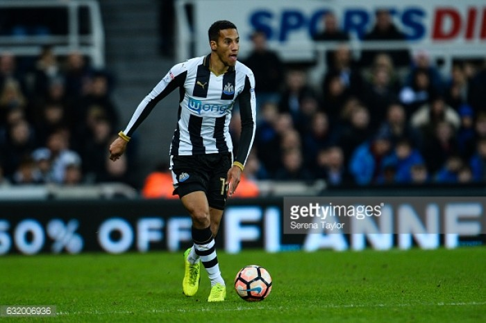 Isaac Hayden is loaded with passion for Newcastle United