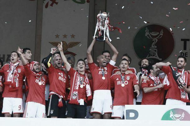 Benfica conquista a vigésima quinta Taça de Portugal