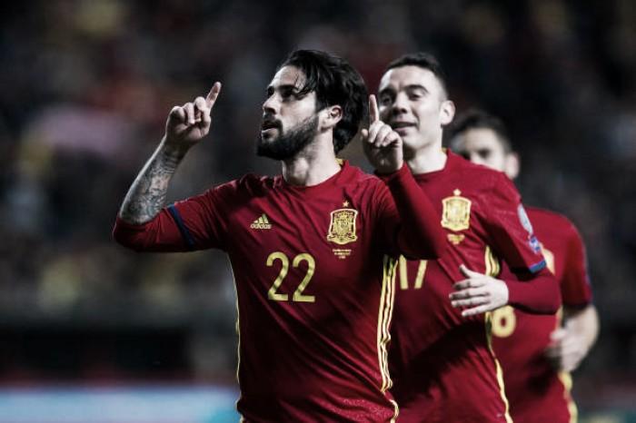 """Isco sobre rumores envolvendo sua ida ao Barça: """"Durante esta parada costumam inventar coisas"""""""