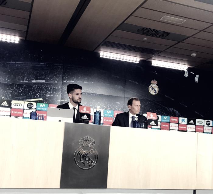 El mago Isco renueva con el Real Madrid hasta 2022