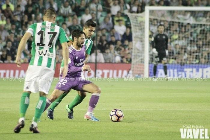 Isco, elegido como mejor jugador del Real Betis - Real Madrid