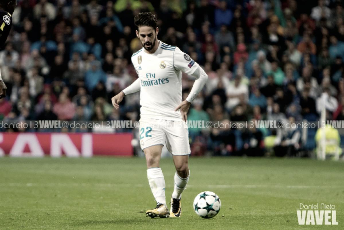 Isco elegido mejor jugador del partido frente al Málaga