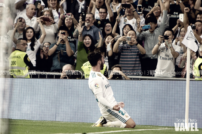 El niño mimado del Real Madrid no defrauda nunca: si Isco marca, los blancos no pierden