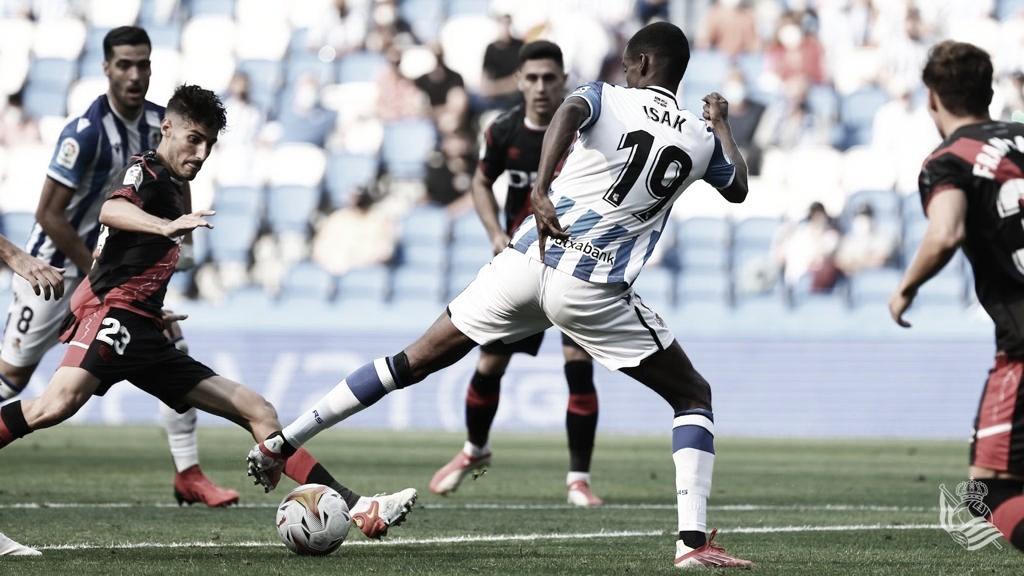 Real Sociedad - Rayo Vallecano: puntuaciones de la Real Sociedad, jornada 2 de LaLiga