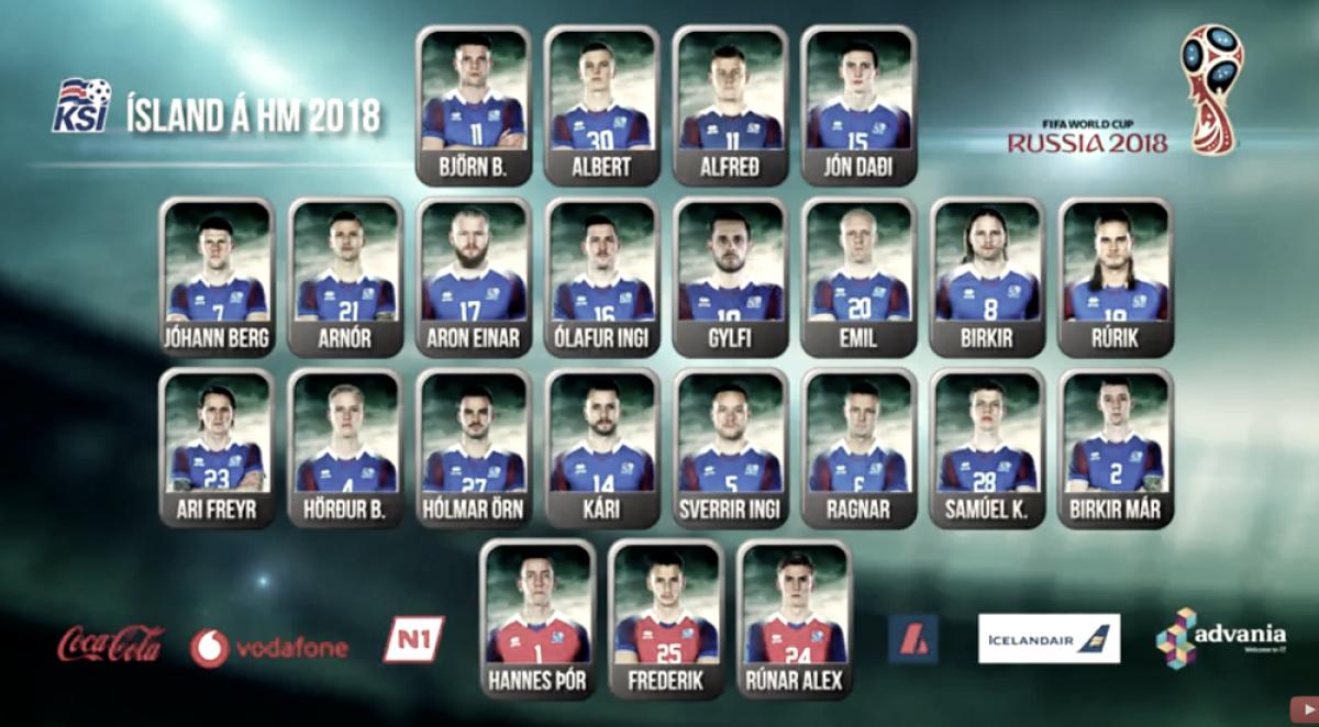 Com Sigurdsson, Islândia divulga 23 convocados para disputa de sua primeira Copa do Mundo
