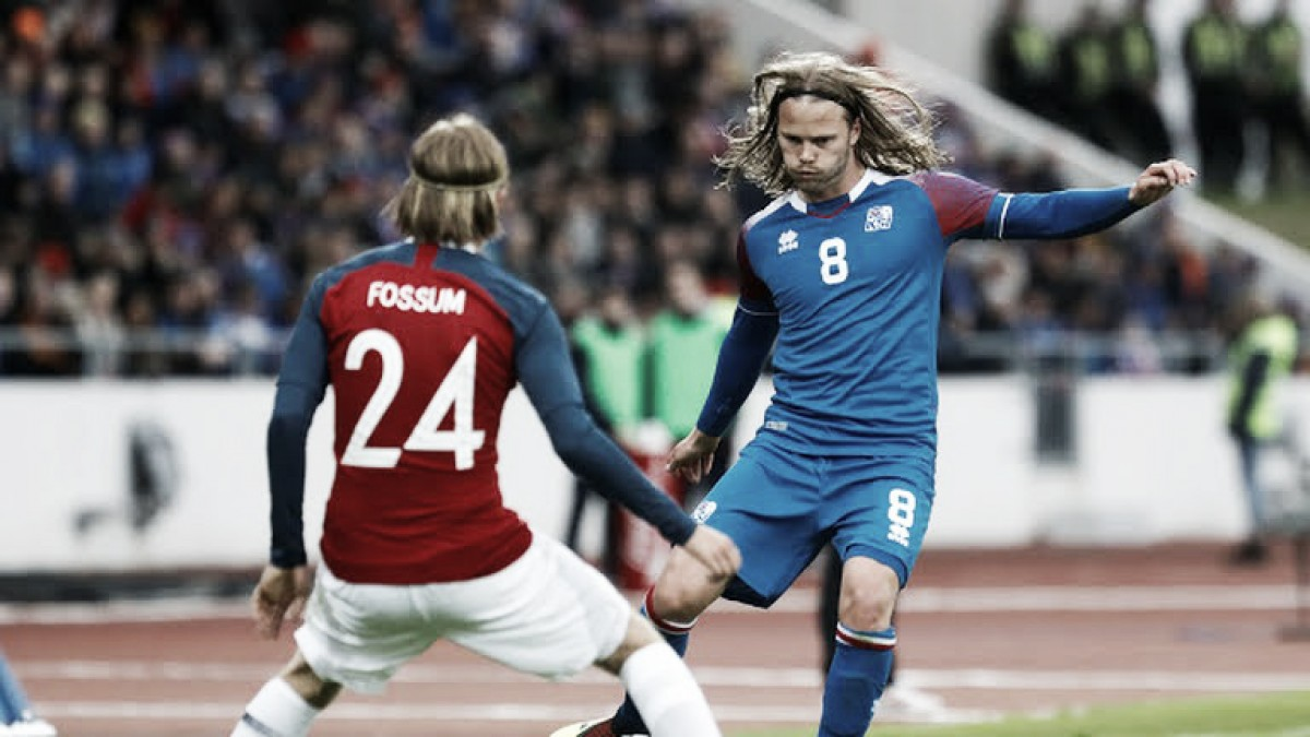 Islandia mostró su peor cara y cayó ante Noruega