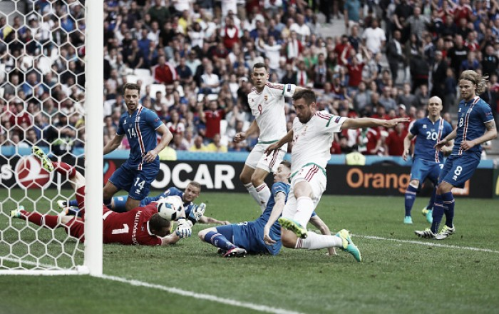 Hungria marca no fim, empata com Islândia e se aproxima da classificação na Eurocopa
