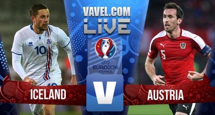 Live Islanda - Austria, Euro 2016  (2-1): Bodvarsson, Schopf, Traustason per la qualificazione