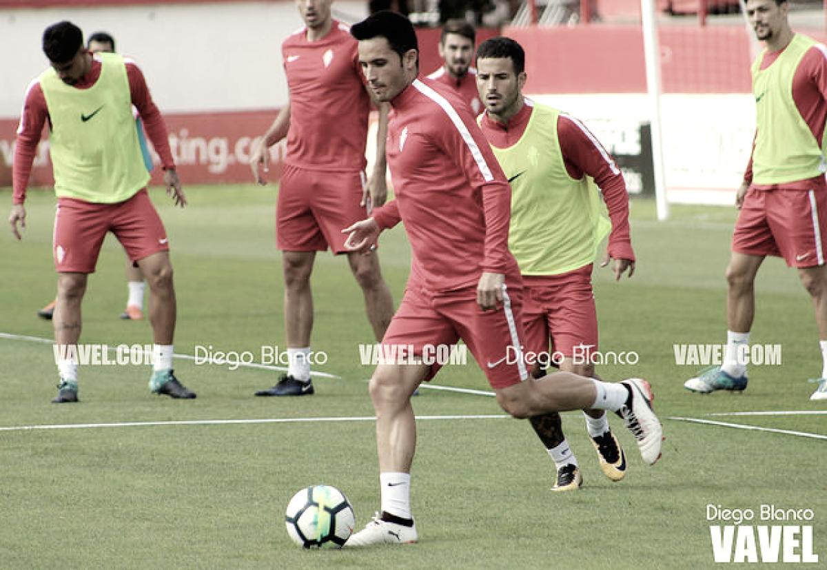 Plan de trabajo semanal del Sporting de Gijón