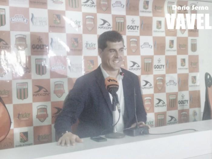 """Ismael Rescalvo: """"Nos ha faltado contundencia pero hemos depuesto bien de la expulsión"""""""