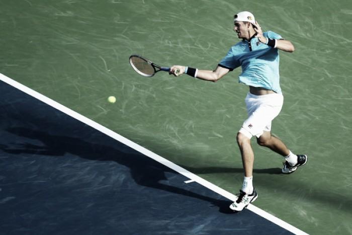 ATP Cincinnati: John Isner tops another young American to reach semifinals