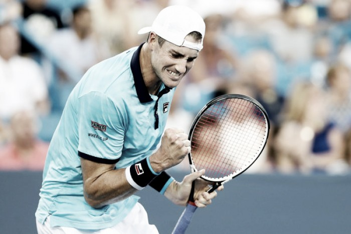ATP Cincinnati: John Isner serves into quarterfinals