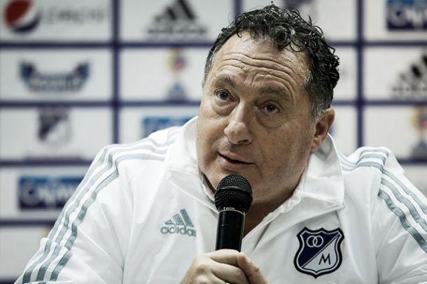 Presentación oficial de Rubén Israel como técnico de Millonarios