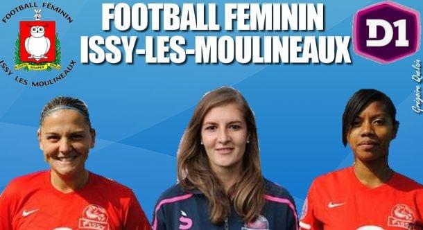 En route vers la D1 : Football Féminin Issy-les-Moulineaux [10/12]