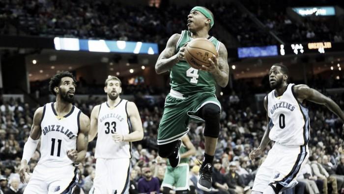 Nba, New York rimonta i Pacers con Anthony. Thomas trascina i Celtics a Memphis
