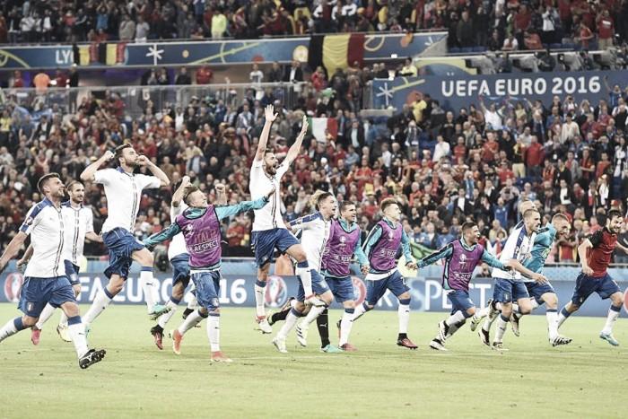 Euro 2016, l'Italia vince la prima con le sue armi tradizionali