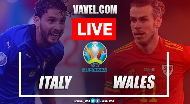 Goal and Highlights: Italy 1-0 Wales in Euro 2020