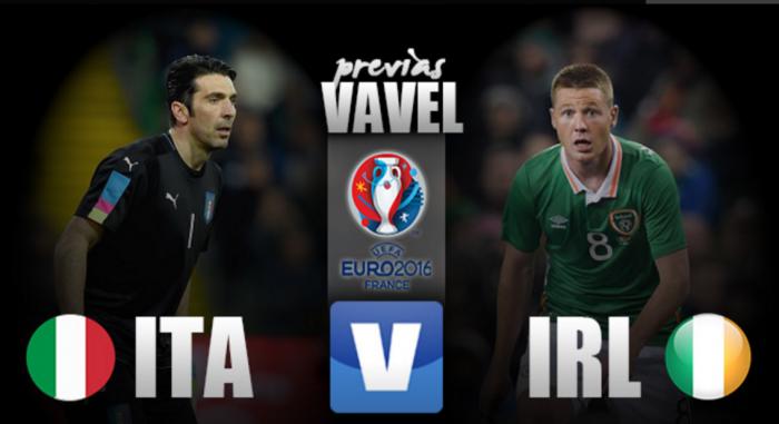 Classificada, Itália encara a desesperada Irlanda pela última rodada do Grupo E
