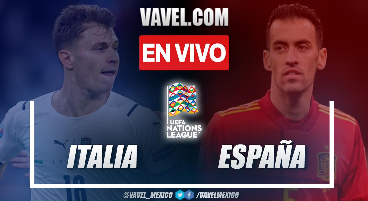 Resumen y goles: Italia 1-2 España en semifinal por UEFA Nations League 2020-21