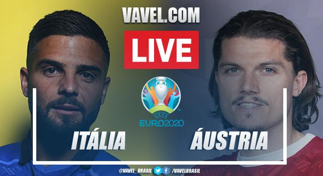 Gols e melhores momentos Itália x Áustria pela Euro 2020 (2-1)
