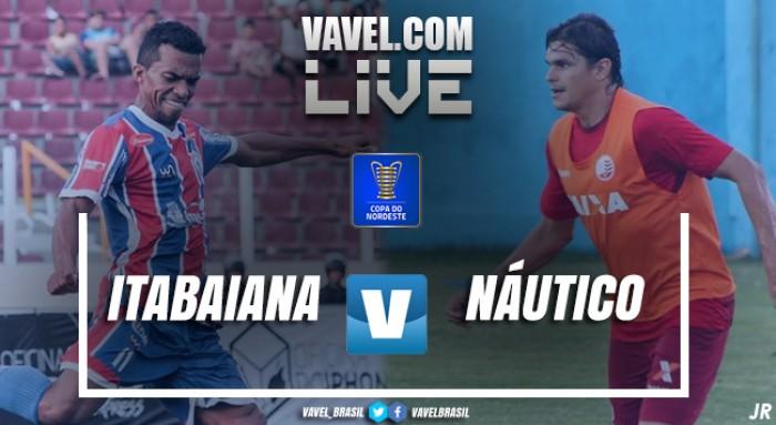 Resultado Itabaiana x Náutico pela Copa do Nordeste 2018 (0-0)