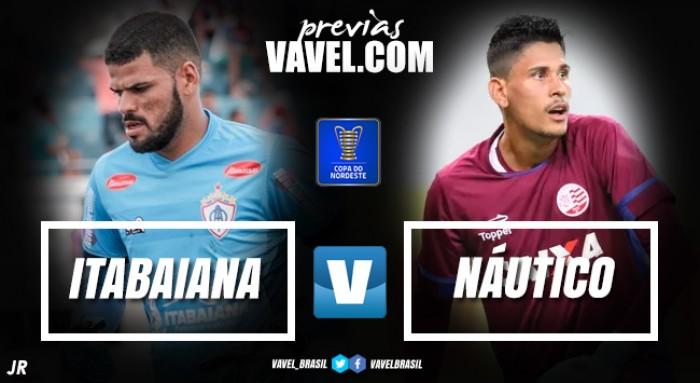 Buscando uma vaga na fase de grupos da Copa do Nordeste, Náutico visita o Itabaiana