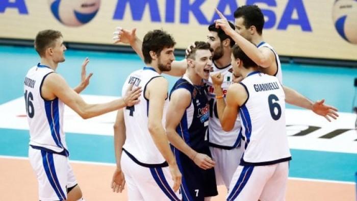 Volley M - L'Italia si riscatta e nella seconda giornata di Grand Champions Cup supera l'ostico Brasile