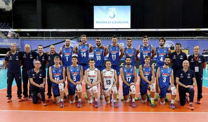 Volley M - Finalmente di nuovo una vittoria per l'Italia in FIVB World League, Francia battuta