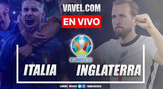 Goles y resumen del Italia (3) 1-1 (2) Inglaterra en Euro 2020